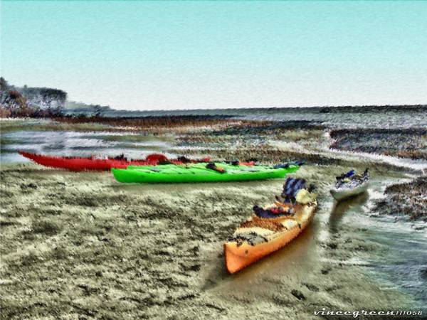 Digital Art - Beached And Abandoned by Vincent Green