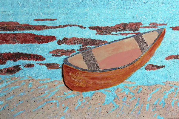 Painting - Beached At Washington Oaks Park by Deborah Boyd
