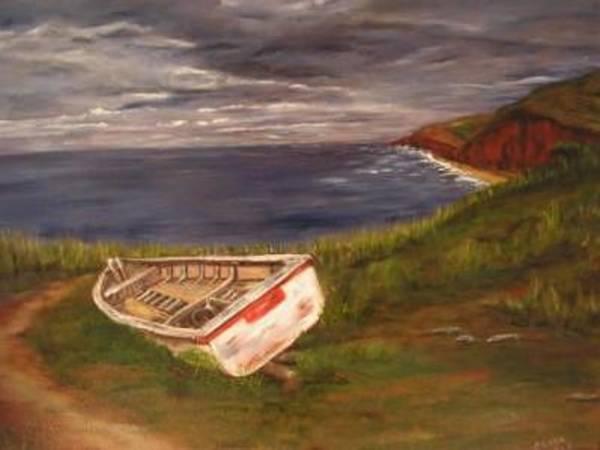 Prince Edward Island Painting - Beached by Clara  Bierman