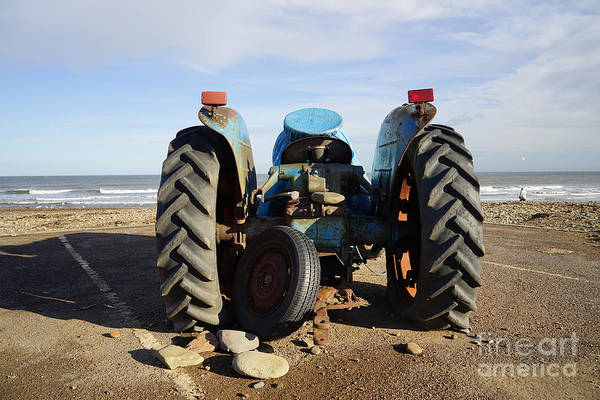 Tractor Photograph - Beached by Smart Aviation