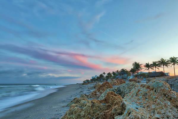 Photograph - Beachscape At Florida Deerfield Beach by Juergen Roth