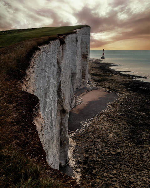 Famous Wall Art - Photograph - Beachy Head Cliffs by Jaroslaw Blaminsky