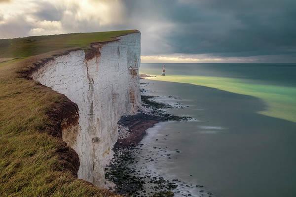 Seven Photograph - Beachy Head - England by Joana Kruse