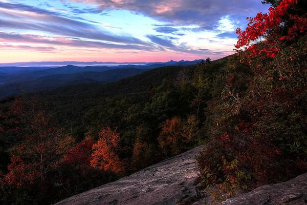 Photograph - Beacon Heights Facing Table Rock by Carol Montoya