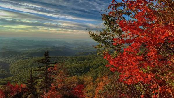 Photograph - View From Beacon Heights  by Carol Montoya