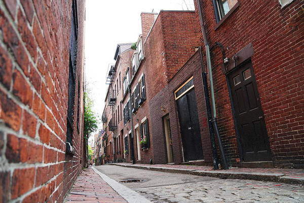 Photograph - Beacon Hill Alley by Christopher Brown
