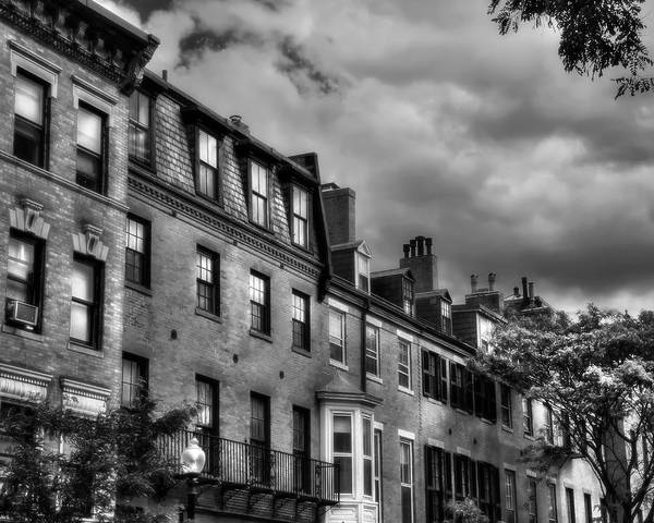 Photograph - Beacon Hill Architecture - Boston by Joann Vitali