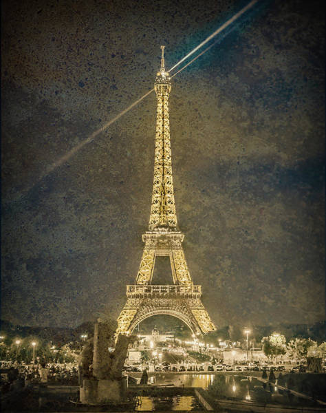 Photograph - Paris, France - Beacon by Mark Forte