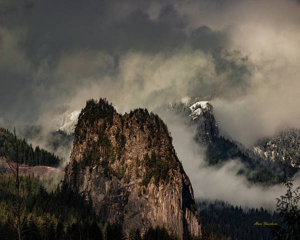 Photograph - Beacon Rock by Hans Franchesco