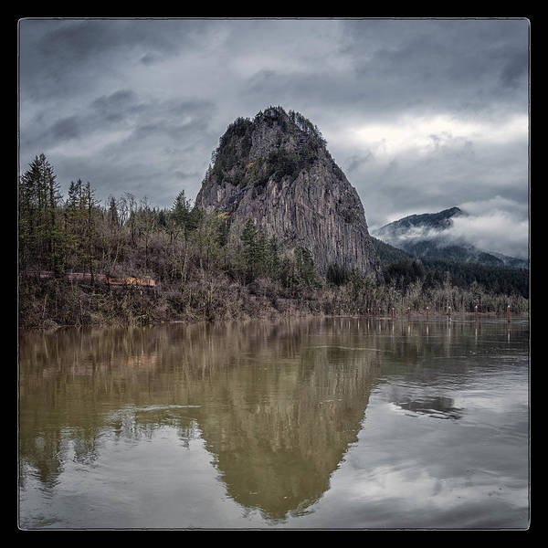 Wall Art - Photograph - Beacon Rock by Robert Fawcett