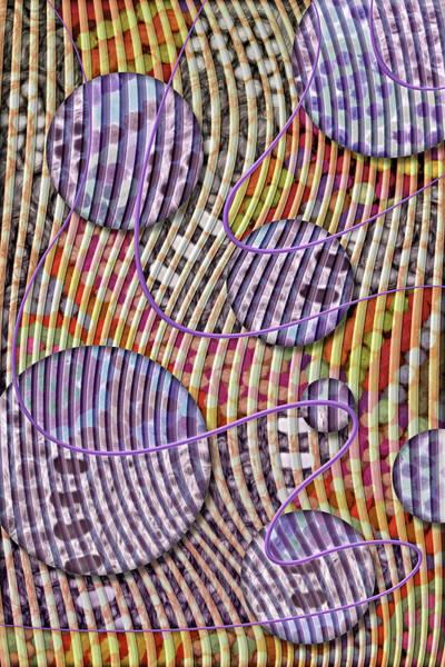 Digital Art - Bead Spumps by Becky Titus