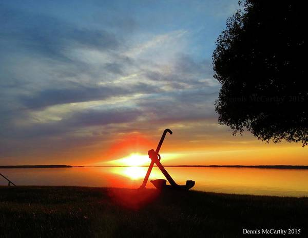 Photograph - Beadles Point Sunset by Dennis McCarthy