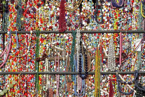 Beads In A Window Art Print