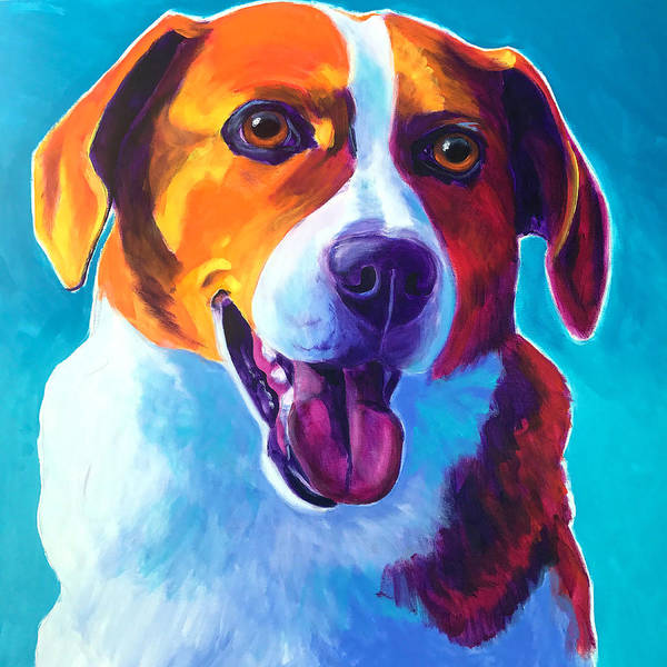 Wall Art - Painting - Beagle - Penny by Alicia VanNoy Call
