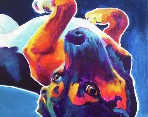 Wall Art - Painting - Beagle - Roxy by Alicia VanNoy Call