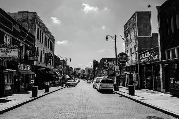 Photograph - Beale Street Basics by D Justin Johns
