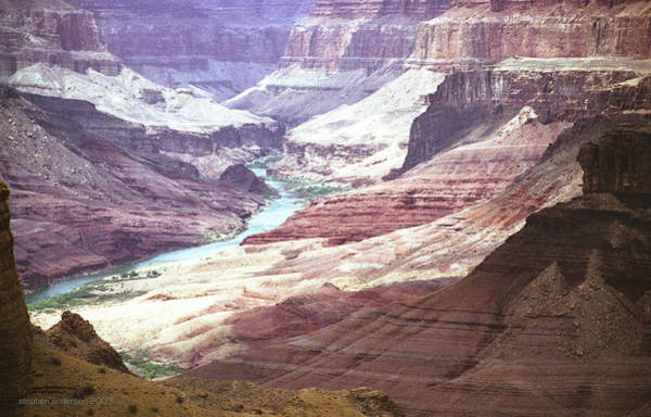 Photograph - Beamer Trail, Grand Canyon by Stephen Andersen