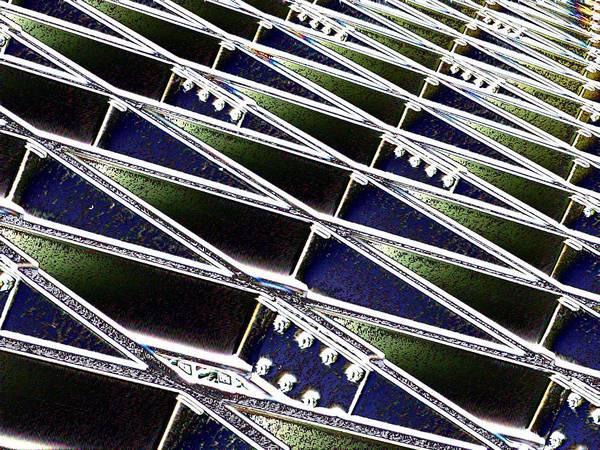 Steel Beams Wall Art - Photograph - Beaming by Tim Allen