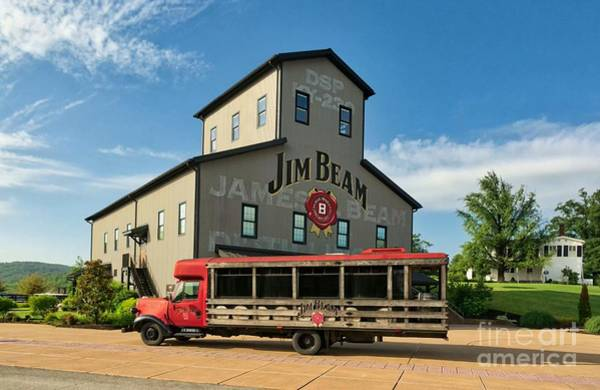 Photograph - Beam's Bourbon Showplace by Mel Steinhauer