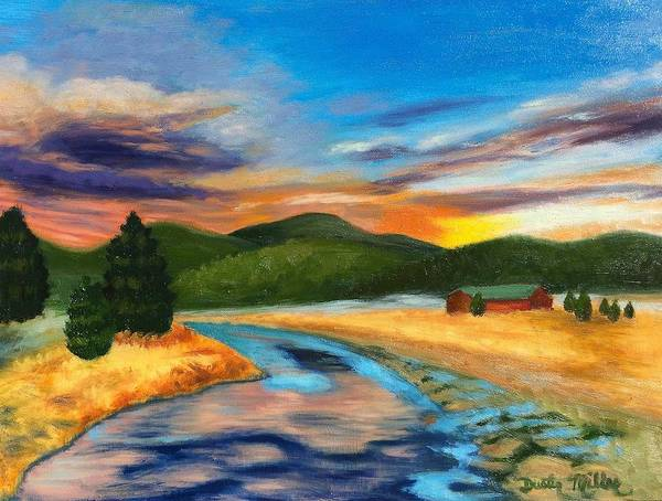 Painting - Bear Creek Colorado by Dustin Miller