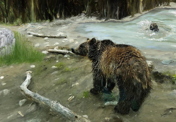 Digital Art - Bear Fun by Susan Kinney