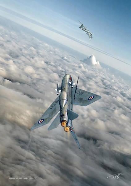 Supersonic Speed Wall Art - Digital Art - Bear Hunt by Peter Van Stigt