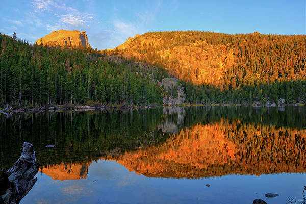 Photograph - Bear Lake Dawn by Greg Norrell