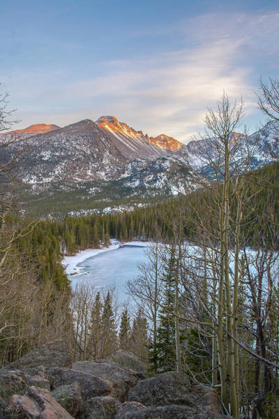 Wall Art - Photograph - Bear Lake Winter by Aaron Spong