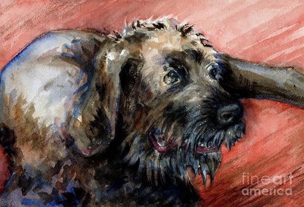 Painting - Bear by Lora Serra