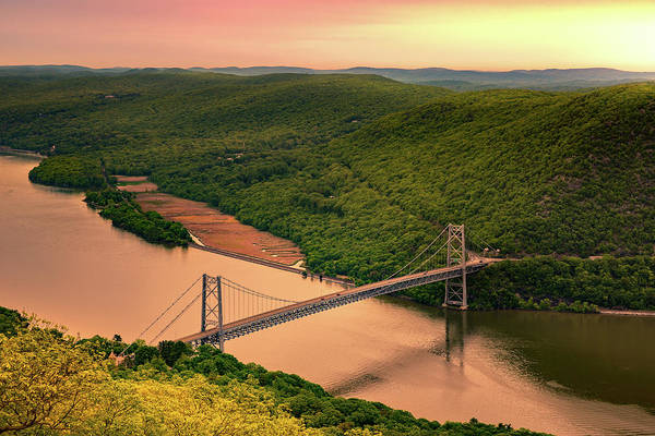 Photograph - Bear Mountain Bridge by Mihai Andritoiu