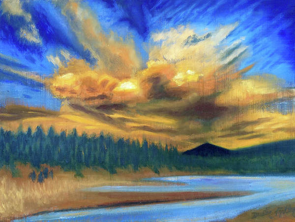 Painting - Bear Mountain by Dustin Miller