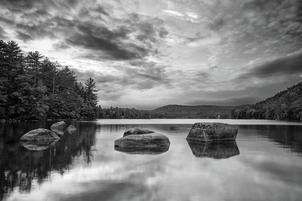 Photograph - Bear Pond Black And White by Darylann Leonard Photography