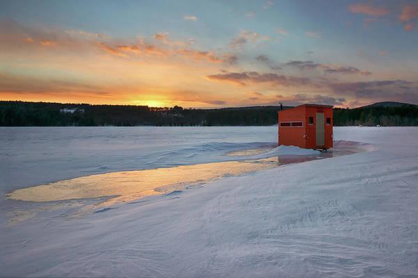 Photograph - Bear Pond Sunset by Darylann Leonard Photography