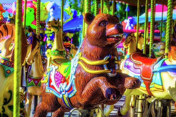 Photograph - Bear Ride by Garry Gay