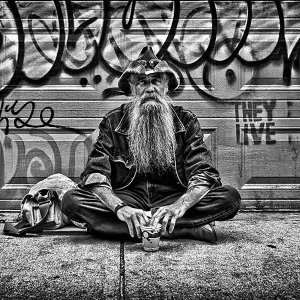 Wall Art - Photograph - Beard (one Of The Best Ever). A by Brian Carson