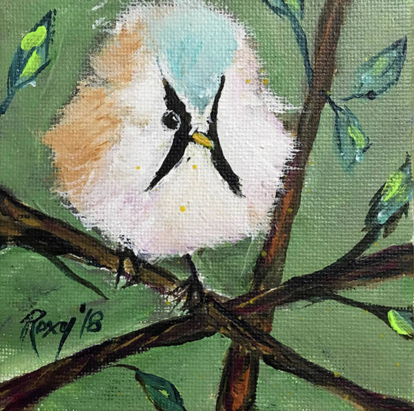 Image Painting - Bearded Tit by Roxy Rich