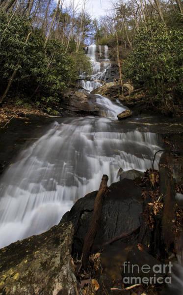 Photograph - Bearden Falls Vertical by Barbara Bowen