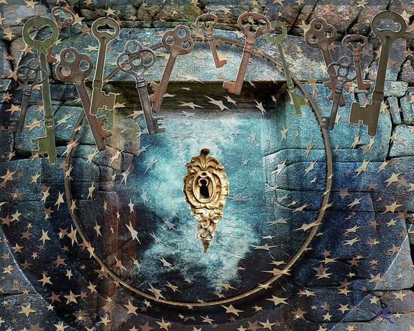 Digital Art - Bearer Of The Keys by Louise Roach