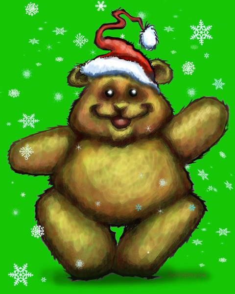 Digital Art - Bearry Christmas by Kevin Middleton