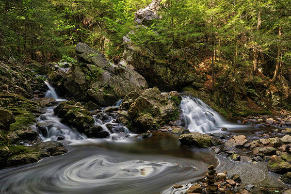 Photograph - Bear's Den Waterfalls by Juergen Roth