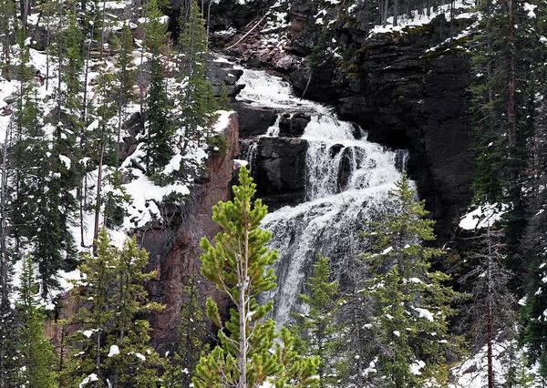 Photograph - Beartooth Falls by Alex Galkin