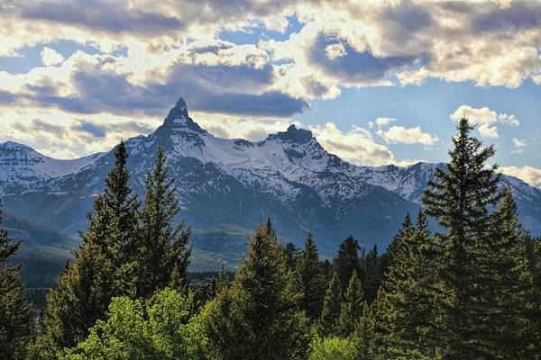 Wall Art - Photograph - Beartooth Mountains In Spring by Dan Sproul