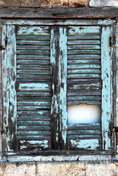 Wall Art - Photograph - Beaten Blue by John Rizzuto