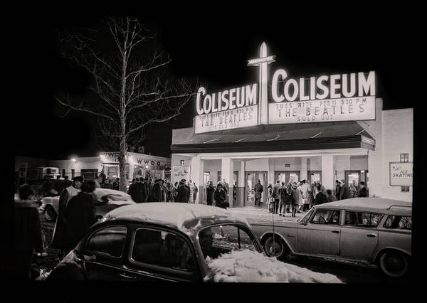 Photograph - Beatles At The Washington Coliseum 1964 - Remastered by Carlos Diaz