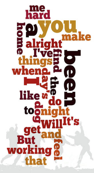 Wall Art - Digital Art - Beatles, Can You Guess The Name Of The Song? A Hard Day's Night by Drawspots Illustrations