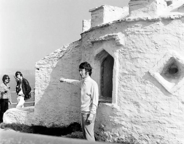 Photograph - Beatles John Lennon Magical Mystery by Chris Walter