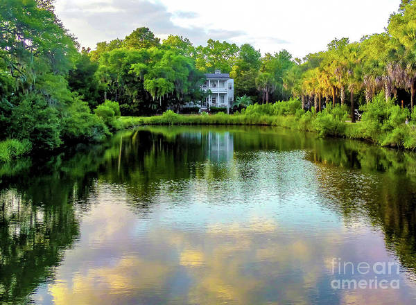 Suggestion Photograph - Beaufort South Carolina Reflections by Norma Brandsberg