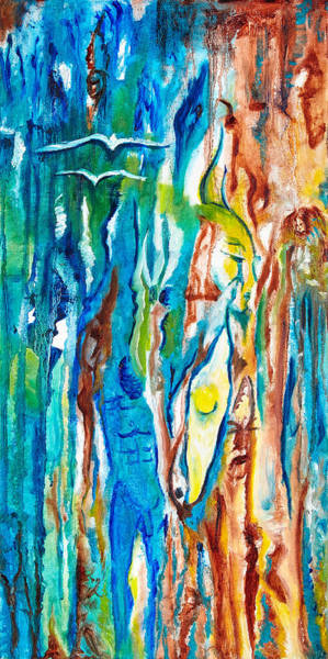 Oxidation Painting - Beauitful Corrosion by Lora D'Agnillo