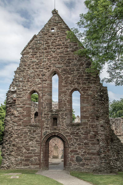 Photograph - Beauly Priory 0897 by Teresa Wilson