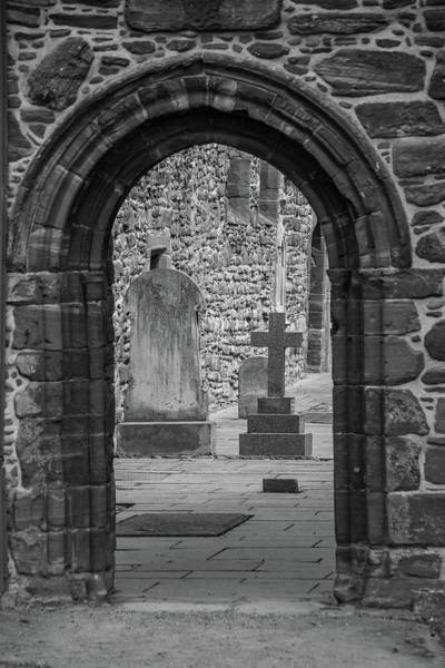 Photograph - Beauly Priory Arch by Teresa Wilson